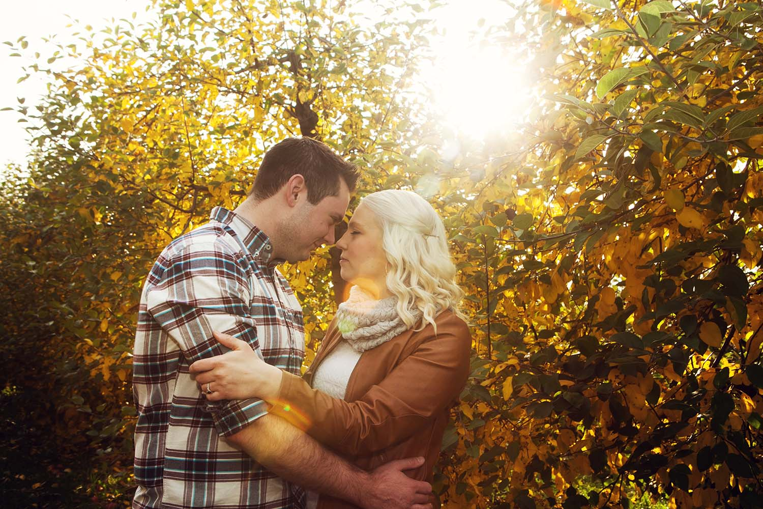 Fall Engagement Photographer Minnesota