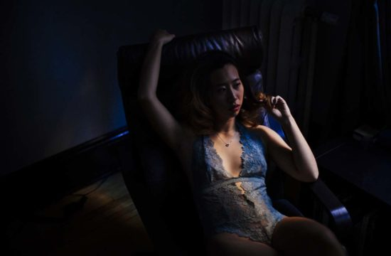Dark Moody Minneapolis Boudoir Photographer Asian