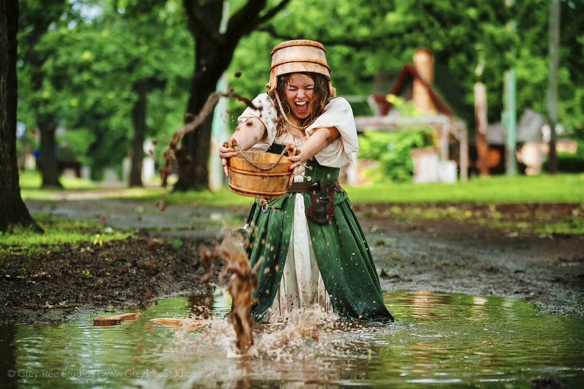 Milk Maid Actor Head shot Photographer Saint Paul Photographer Commercial Portrait