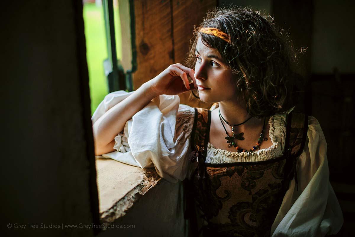 Peasant Girl Fair Actor Head shot Photographer Minneapolis Photography