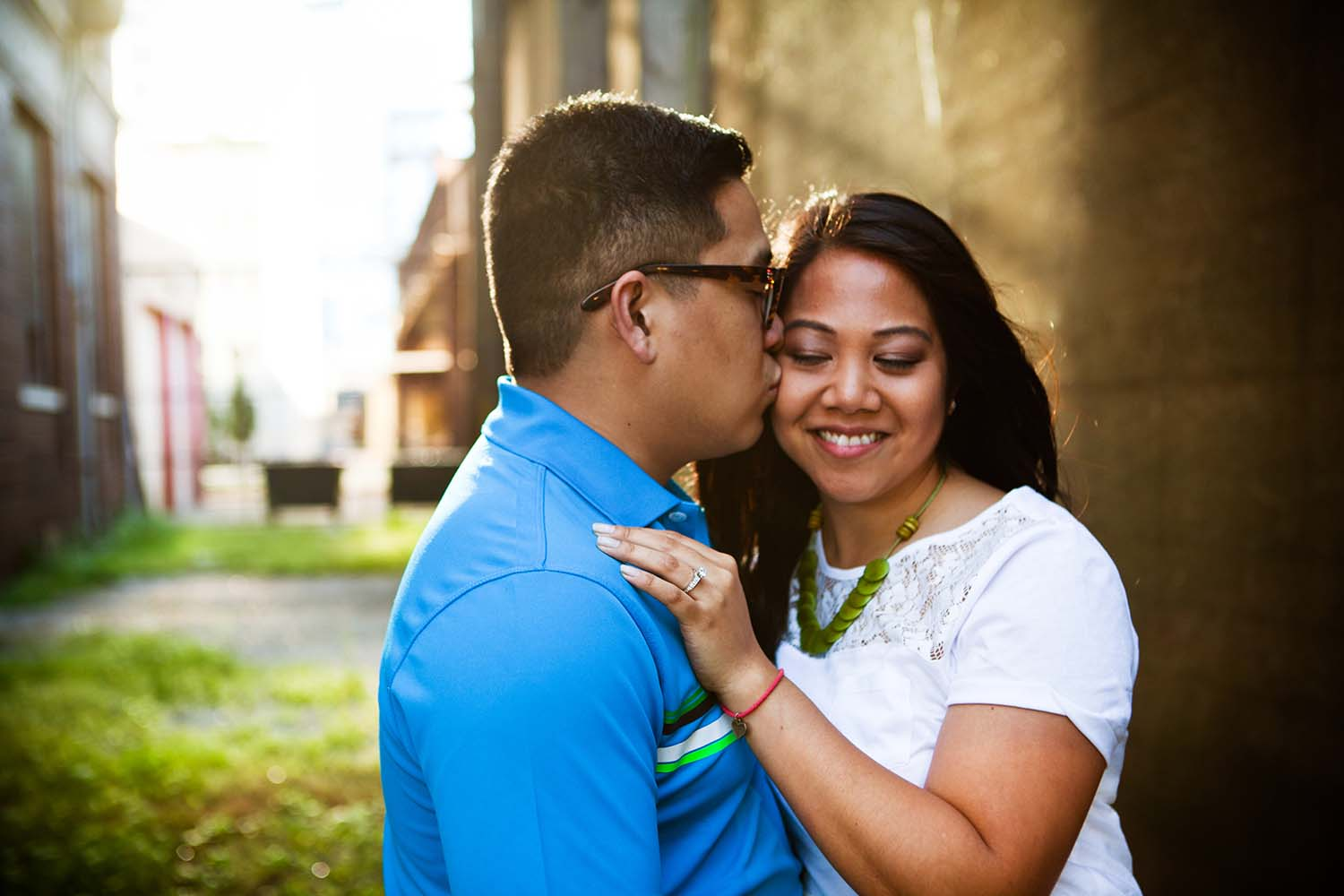 Asian couple, urban, Chicago, engagement photography, Twin Cities Wedding Photographer, Minnesota