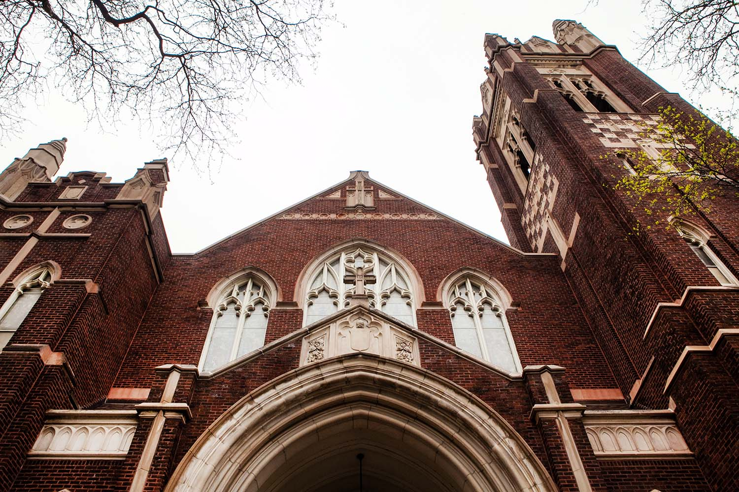 St. James Lutheran Church architectural photography.  Midwest Wedding Photographer