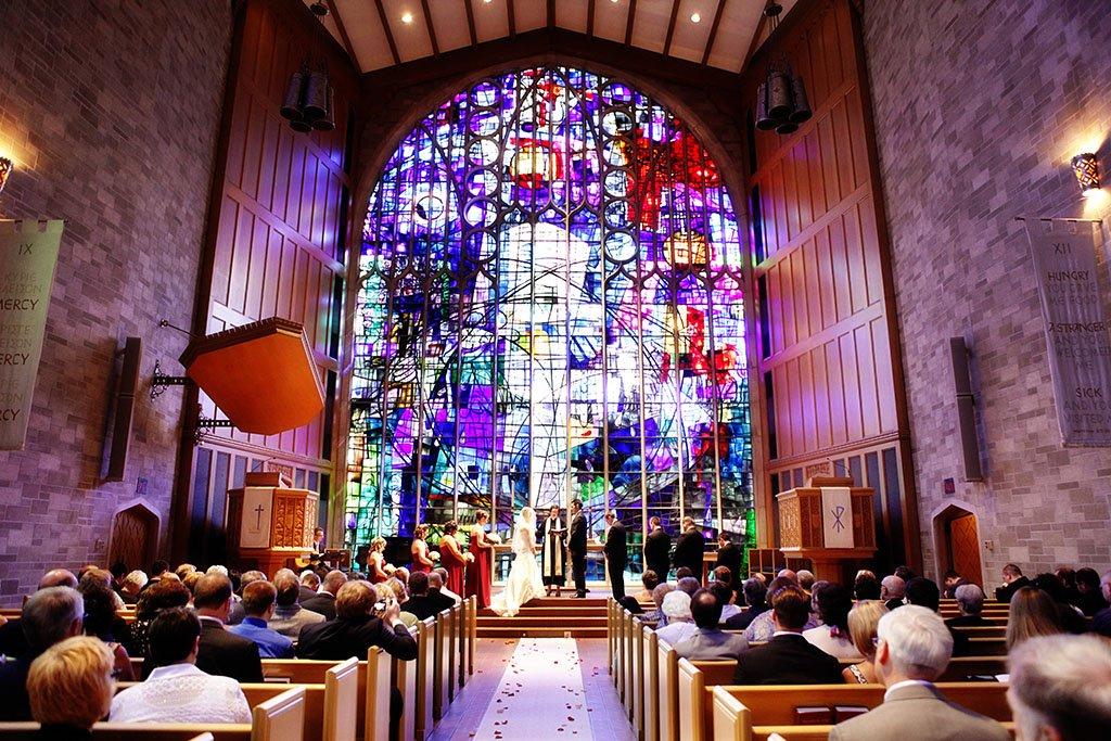 Alice Millar Chapel Wedding Ceremony, Chicago Weddings