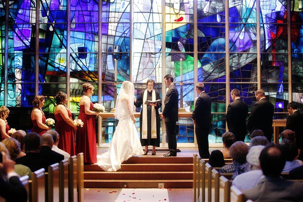 Alice Millar Chapel Wedding Ceremony Northwestern University