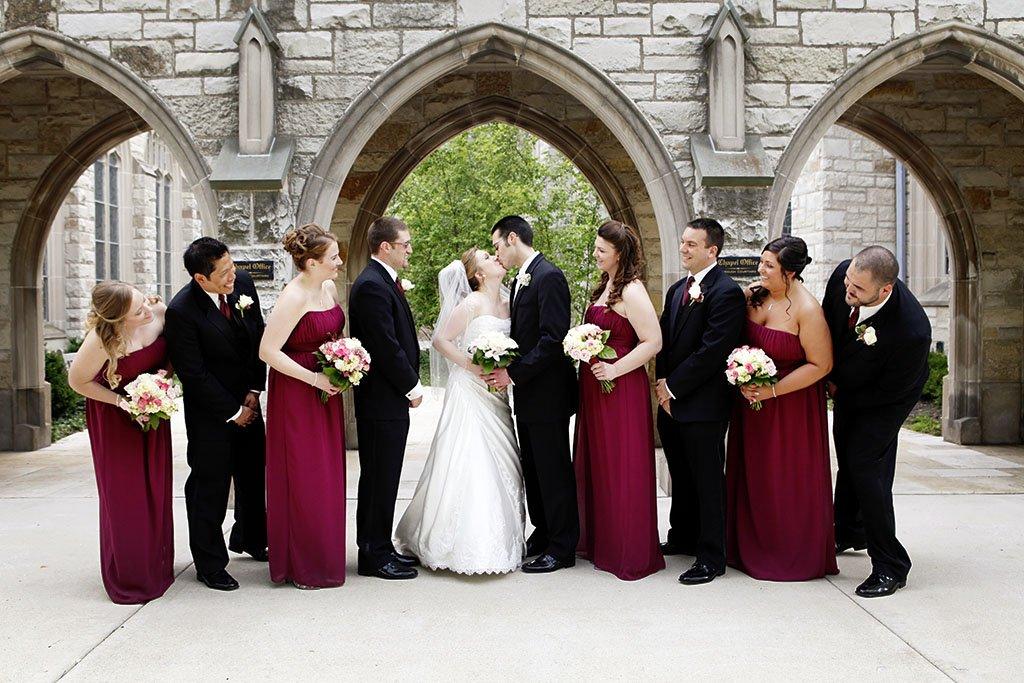 Alice Millar Chapel Wedding Party Portrait, Bridal Party, Photography, Minneapolis Wedding Photographer
