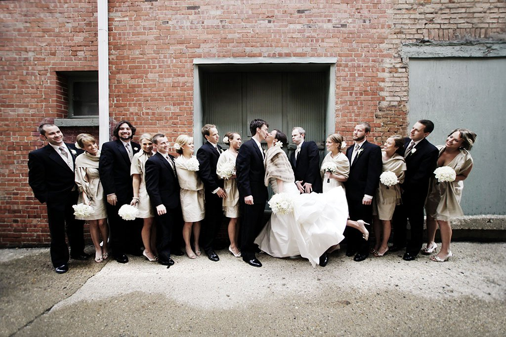 Alley Bridal Party Portraits