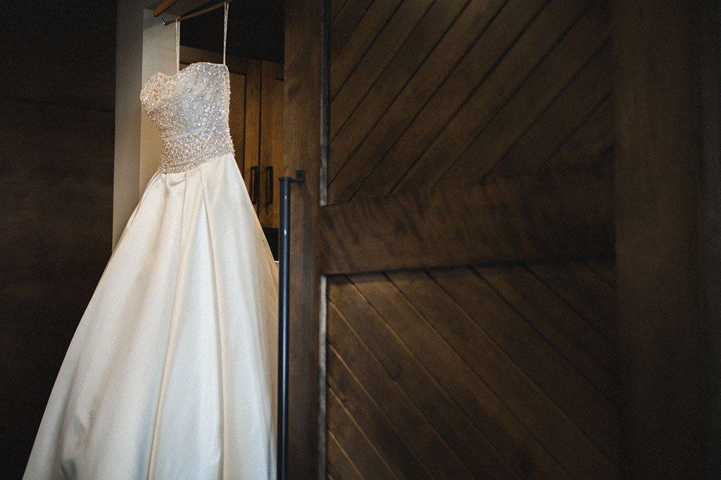 Beaded Corset Wedding Dress
