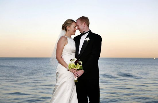 Belmont Harbor Lake Michigan Wedding Portrait, Chicago Wedding Photographers