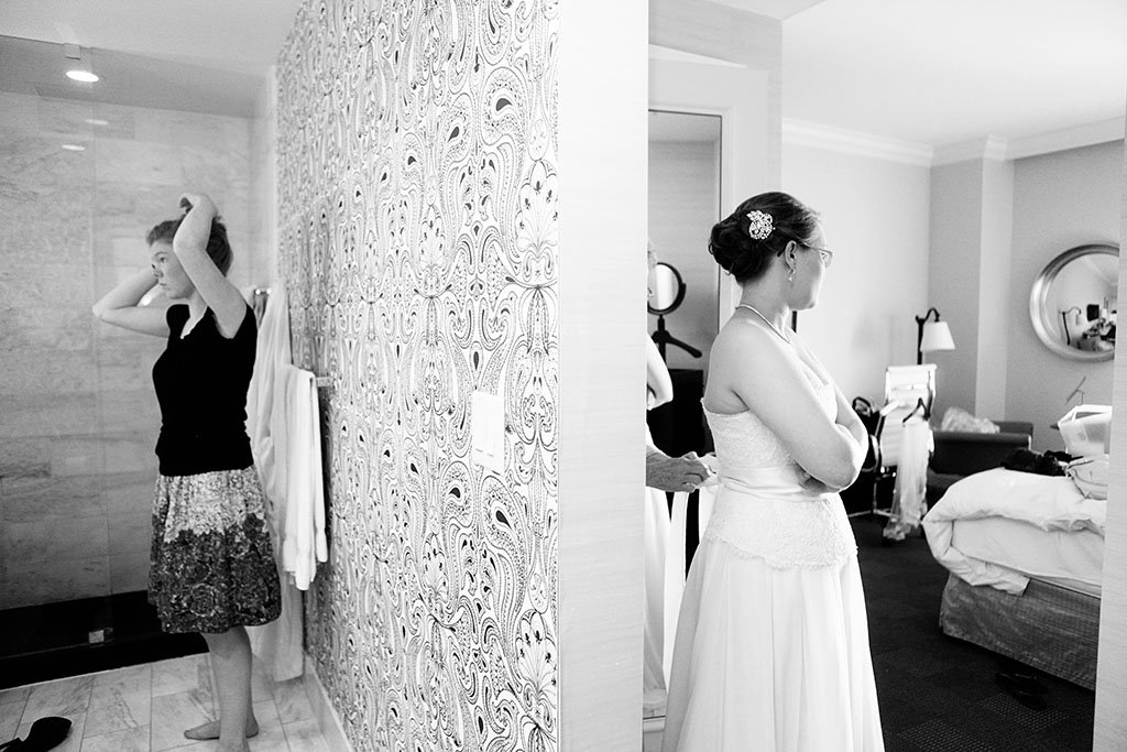 Blackstone Hotel Chicago Bridal Party, Chicago Wedding Photogorahers