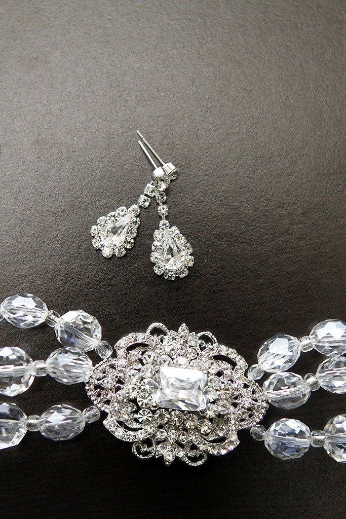 Bridal Jewelry Earrings Bracelet