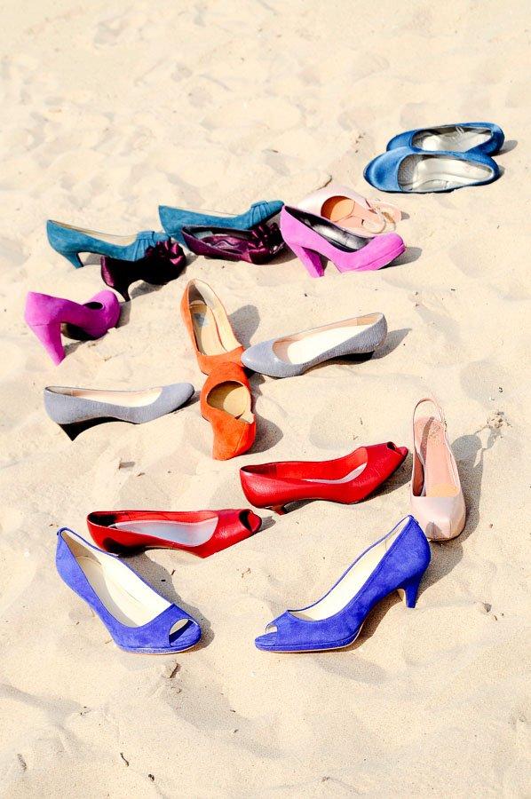 Bridal Party Wedding Shoes Beach