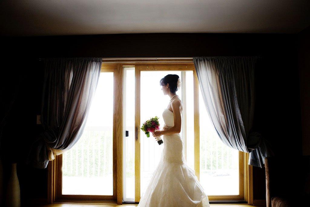 Bridal Portrait Natural Light, Minneapolis Wedding Photographer