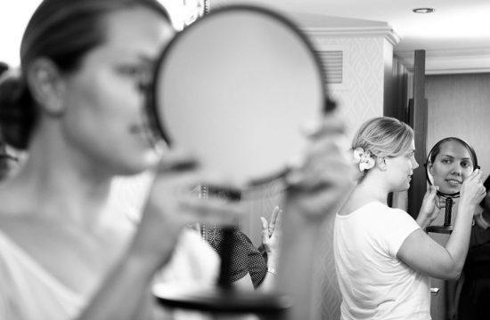 Bride Hairstyle Photojournalist Royal Sonesta Chicago, Minneaopolis Wedding Photographer