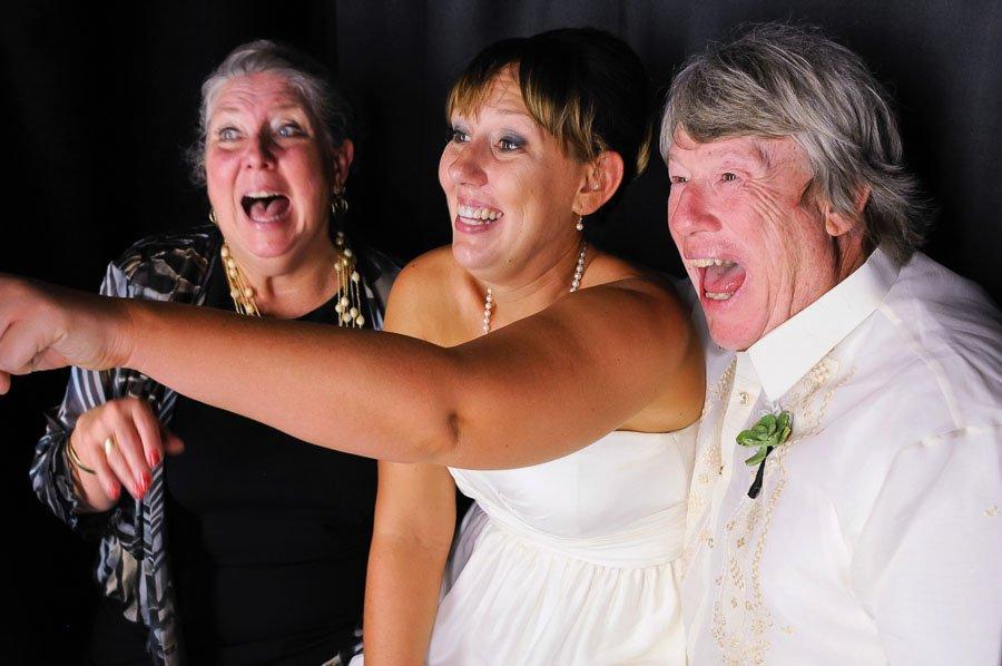 Bride Parents Photo Booth