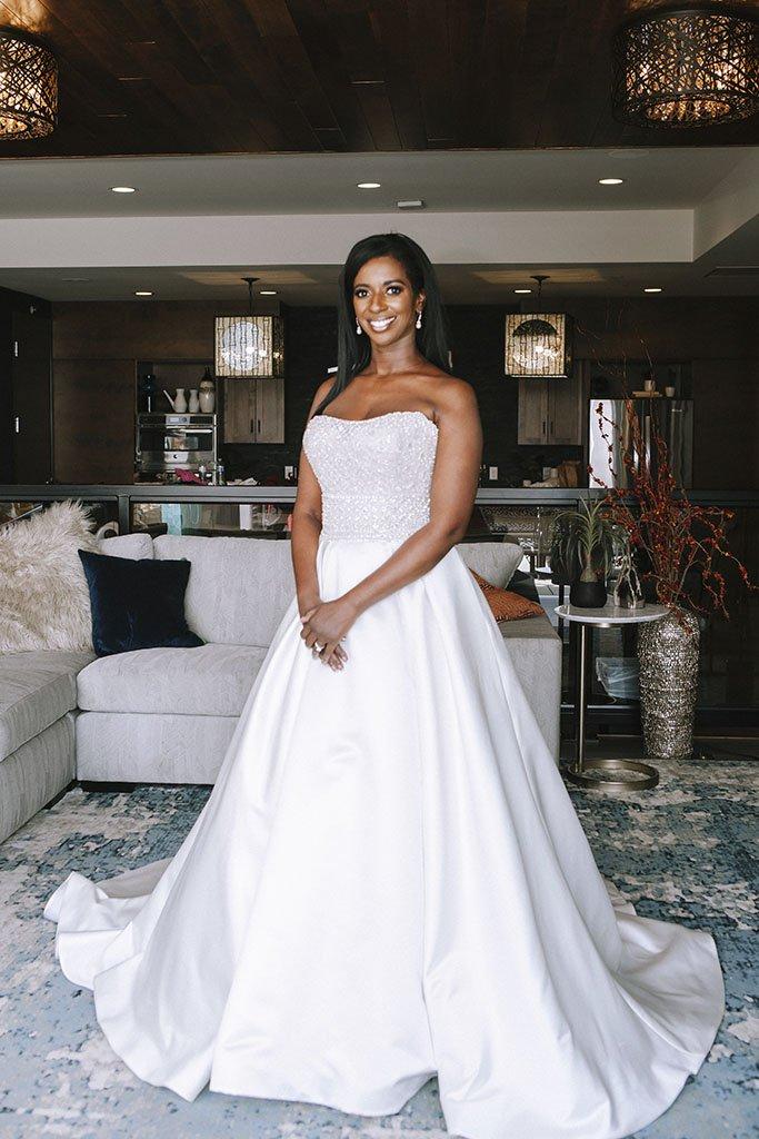 Bride Portrait Editorial Classic gown