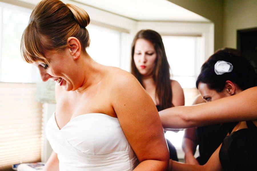 Bride Wedding Dress Getting Ready, Jenny Yoo Wedding Dress