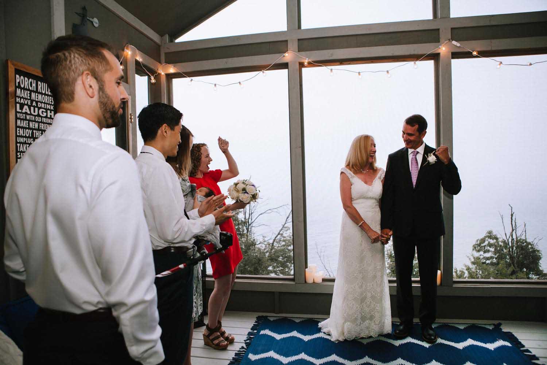 Ceremony Two Harbors MN Minneapolis Wedding Photographer
