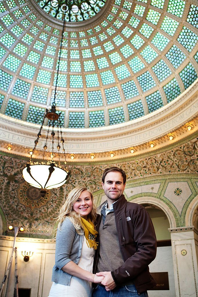 Chicago Cultural Center Engagement Photographers, Minneapolis Wedding Photographers