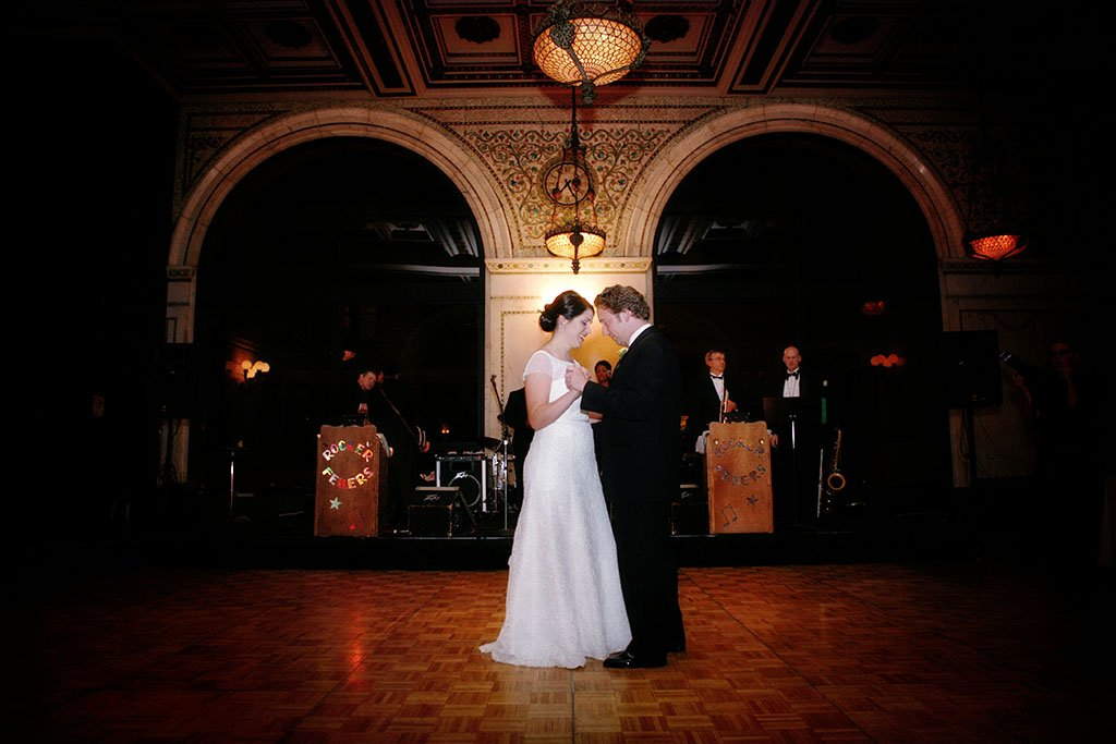 Chicago Cultural Center Wedding Photography First dance