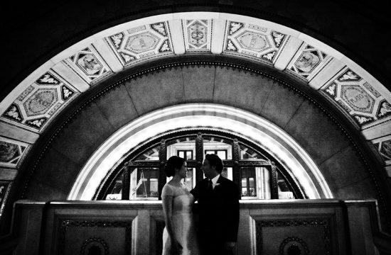 Chicago Cultural Center Wedding Portraits