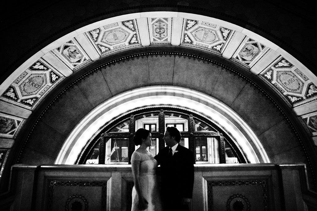 Chicago Cultural Center Wedding Portraits