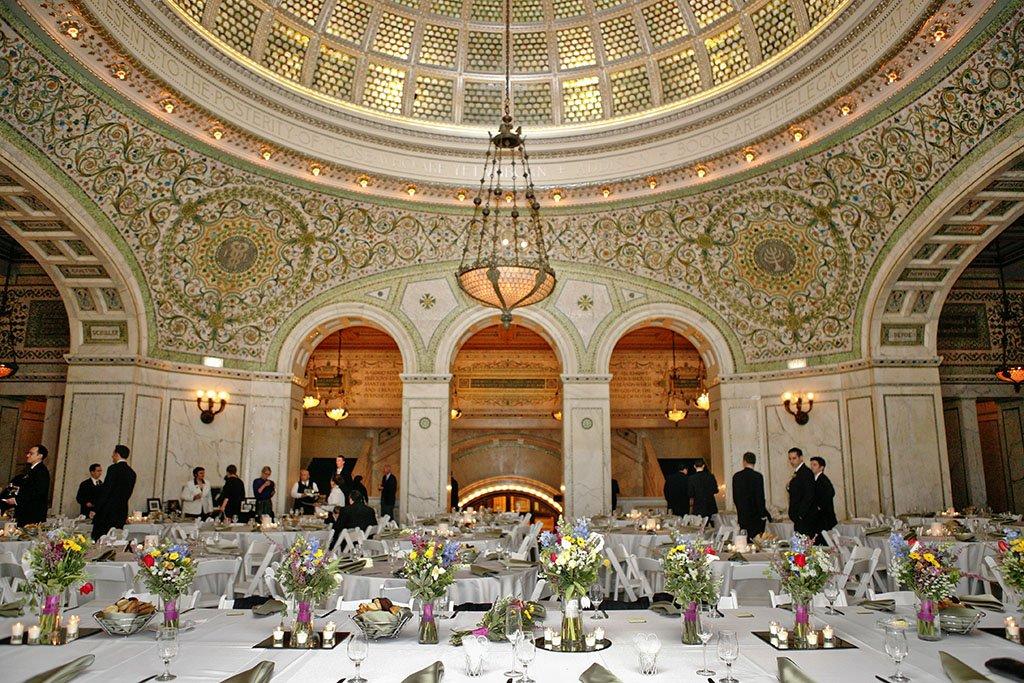 Chicago Cultural Center Wedding Reception, Chicago Wedding Photographers