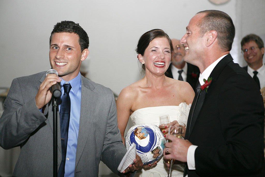 Chicago Fire Soccer Coach Wedding, speeches, Minnesota Wedding Photographer