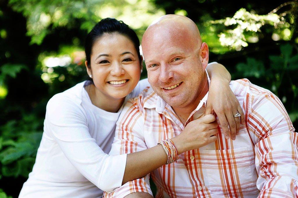 Chicago Portrait Engagement Photography, Liz & Brian