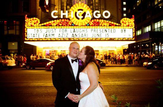 Chicago Wedding Photography Night