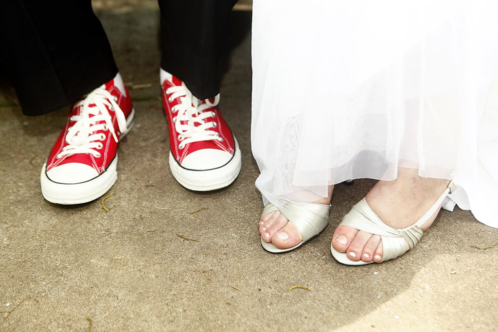 Converse Wedding Shoes Sneakers Bride Groom