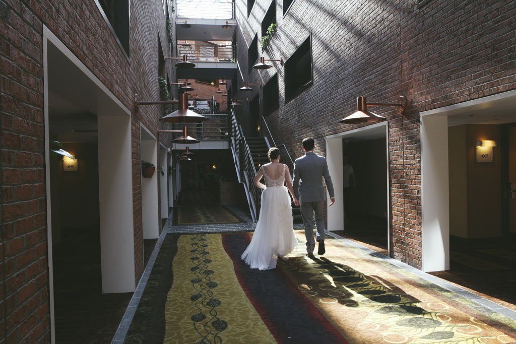 Crowne Plaza Minneapolis West Wedding Skylight