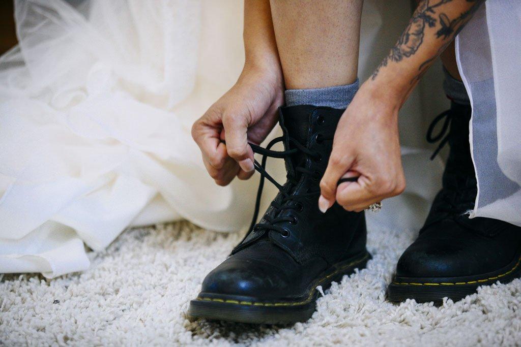 Dr Martens Bride Wedding, best wedding photographer Twin Cities
