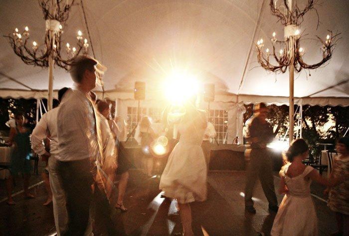 Galleria Marchetti Wedding Reception tent Chicago Wedding Photographers, Steve & Megan