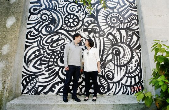 Graffiti West Loop Chicago Engagement Photography, Minneapolis Wedding Photographer