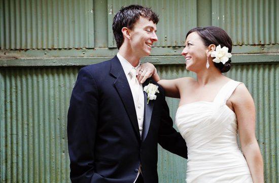 Green Metal Bride Groom, Minneapolis Wedding Photographer