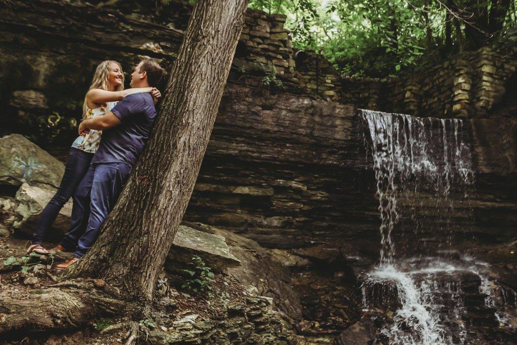 Hidden Falls Park Minneapolis Engagement Photography, Summer Engagement Portrait Session, Minnesota, Minneapolis Wedding Photographer, Saint Paul Photographers