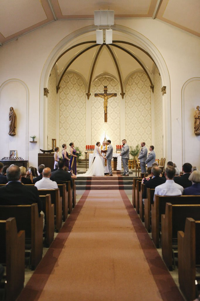 Holy Trinity Wedding Ceremony Winsted MN