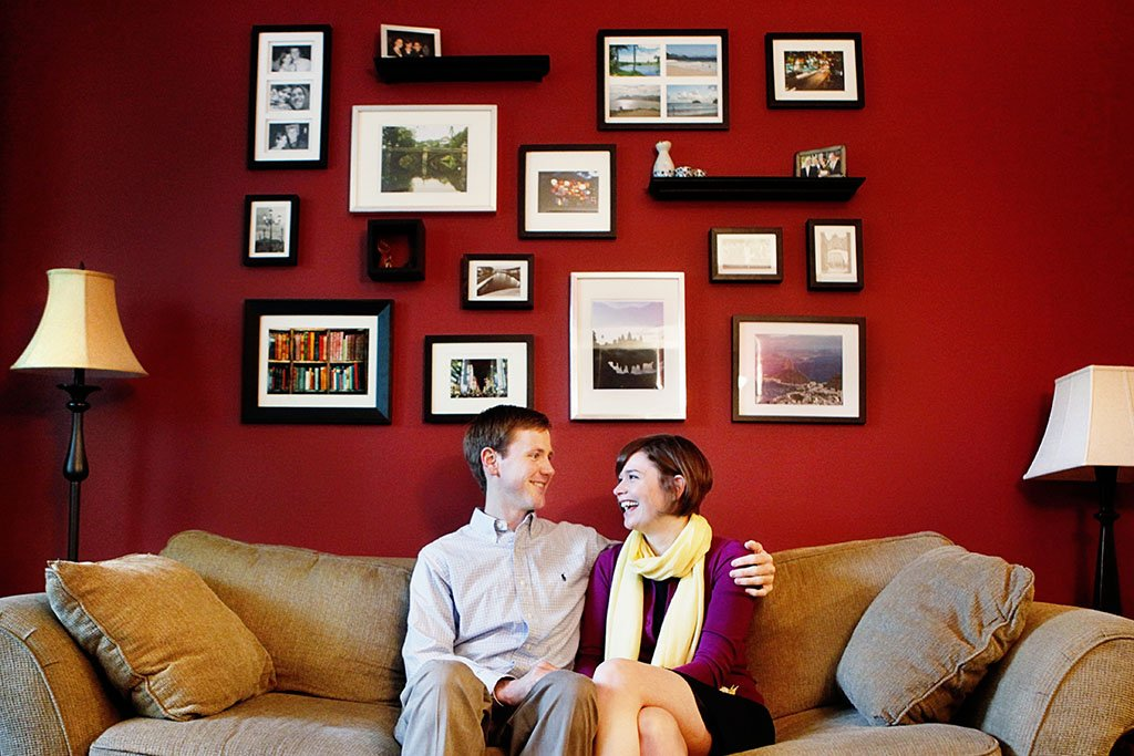 Home Minneapolis Engagement Photography