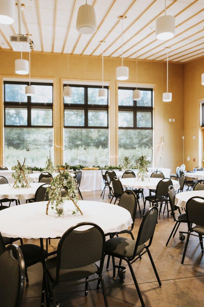 McColl Pond Wedding Reception Hall, environmental center Savage, Minnesota