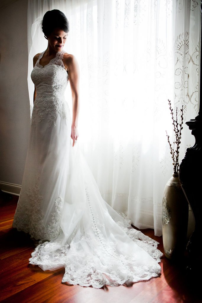 Natural Light Bridal Portrait