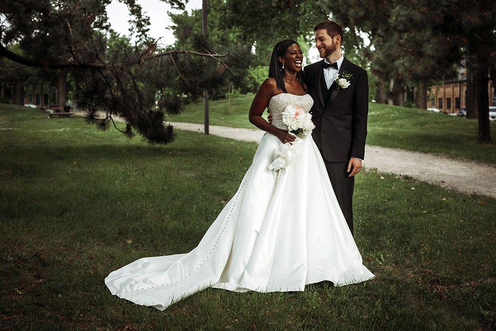 Nicollet Island Pavilion Wedding Photography