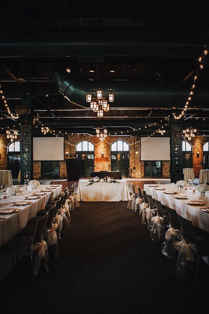 Nicollet Island Pavilion Wedding Reception