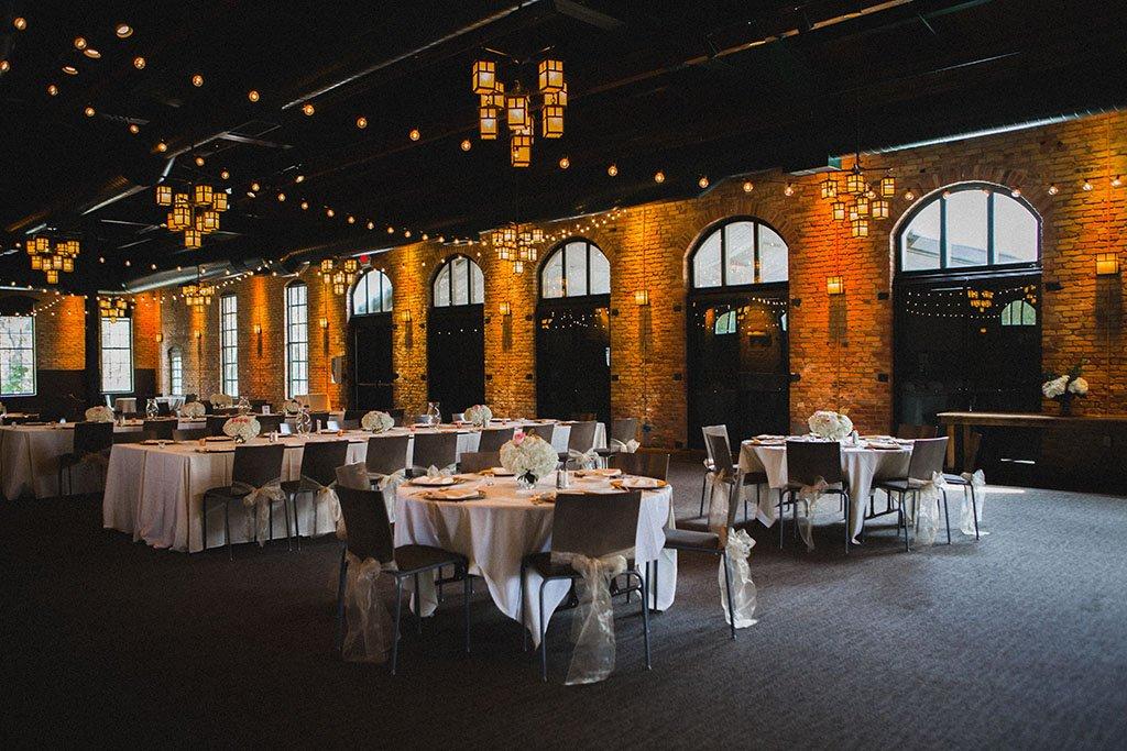 Nicollet Pavilion Wedding Reception