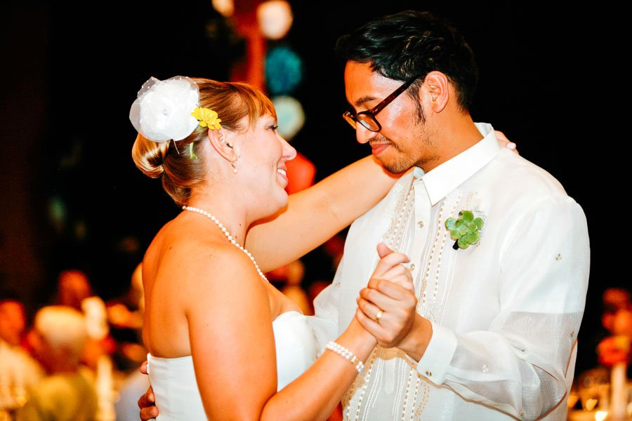 Filipino Groom Bride First Dance, Kate and Desi Married