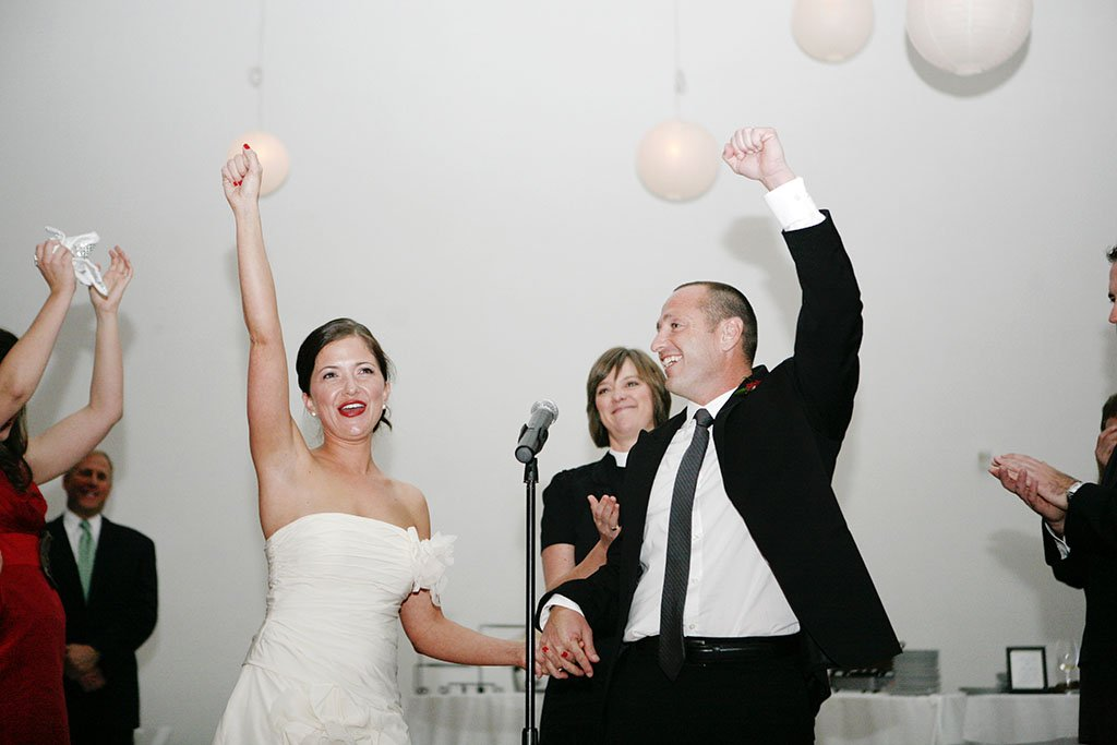 Prairie Productions Chicago Wedding Ceremony, small wedding ceremony
