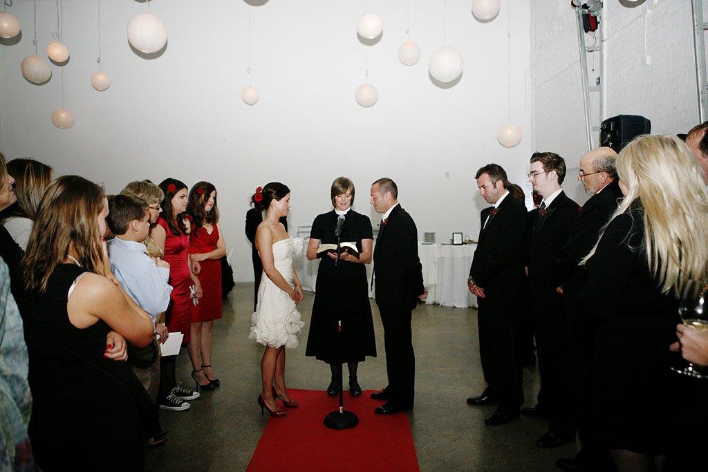 Prairie Productions Wedding Ceremony, Minneapolis Wedding Photographer
