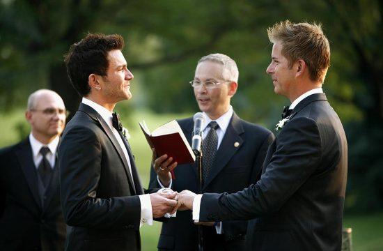 People Magazine, Jim Verraros (American Idol) same sex wedding ceremony Photojournalist, Midwest Wedding photographer