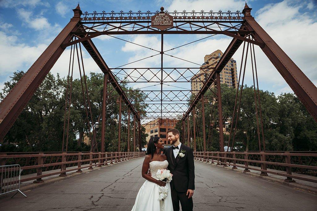 St Anthony Main Bridge Wedding Photography