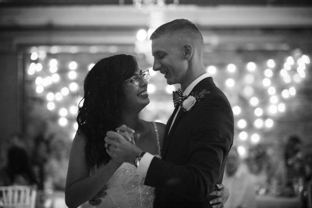 The 3 Ten Wedding Reception First Dance