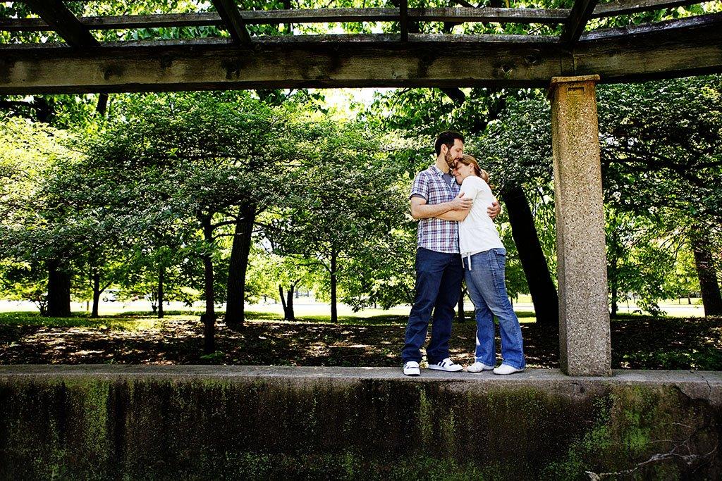 Trellis Humboldt Park Chicago Engagement Photography, Minneapolis Engagement Photographer